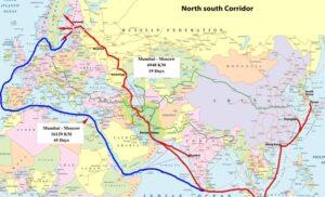 شرکت های روس آماده مشارکت در پروژه کریدور راه آهن شمال-جنوب در ایران هستند